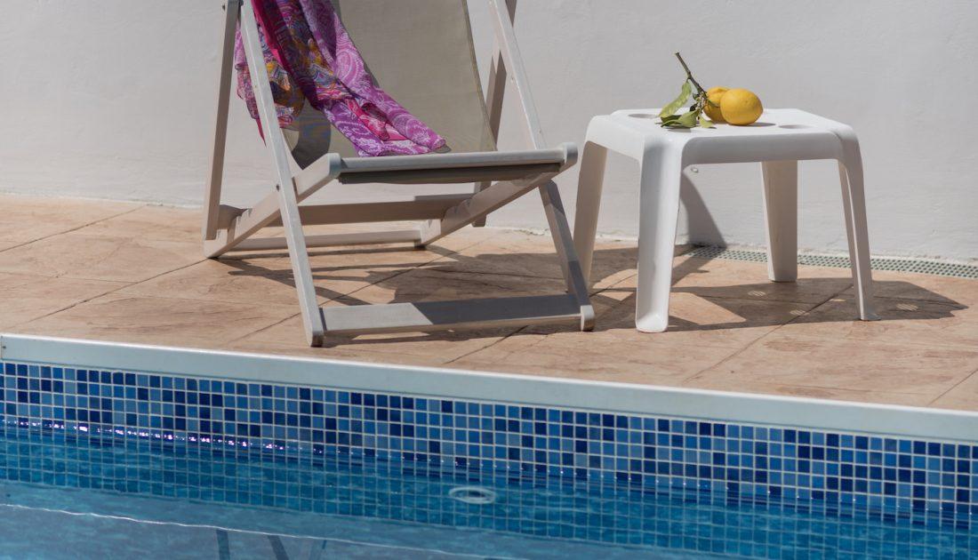 Pool Side in Cyprus Villas