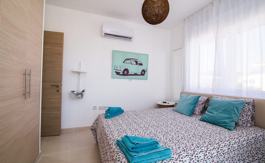 Bedrooms in Ayia Napa Villas