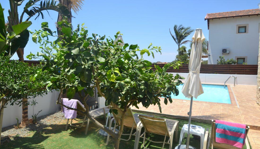 Garden in Cyprus Villas