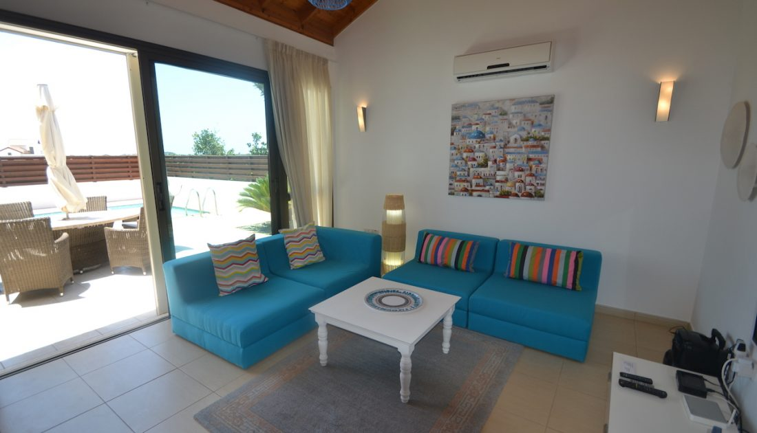 Villa's Lobby in Cyprus