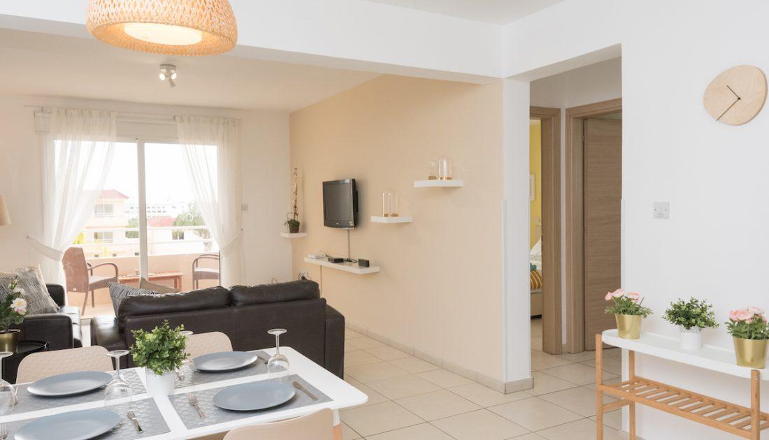 Living Rooms in Ayia Napa Villas